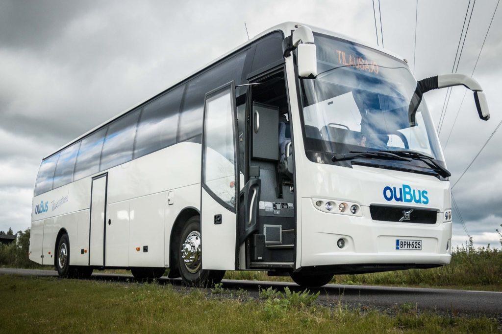 Tilausajot Oubus Oulu linja-auto bussi tilausbussi henkilökuljetus ryhmämatkat