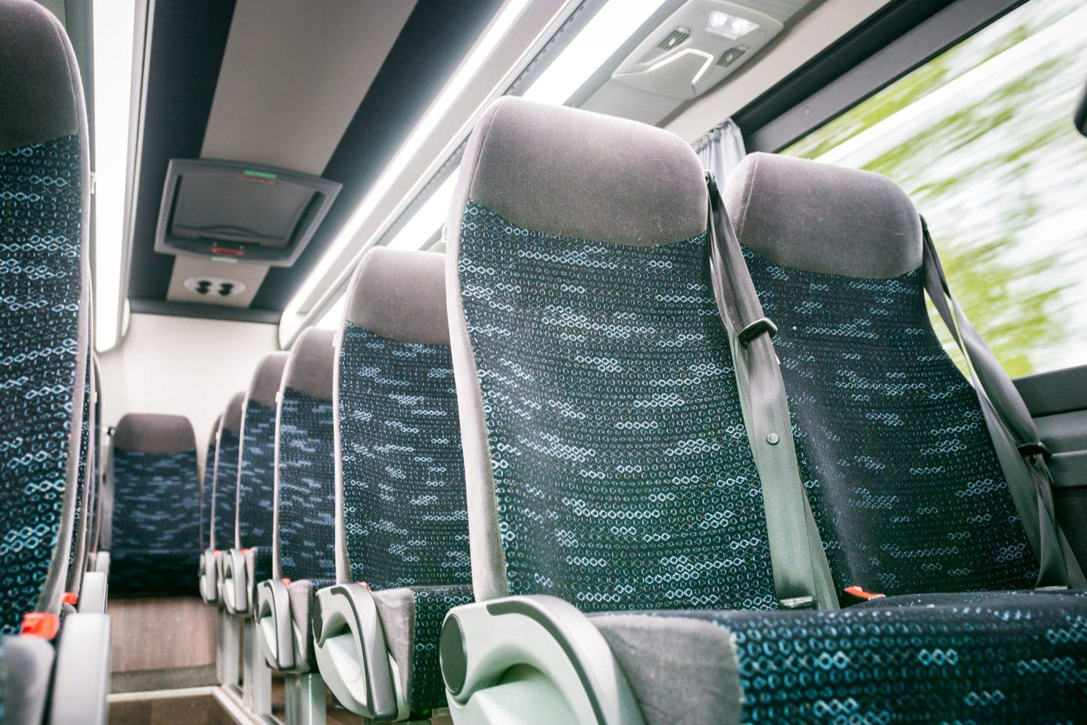 Siistit ja turvalliset bussit