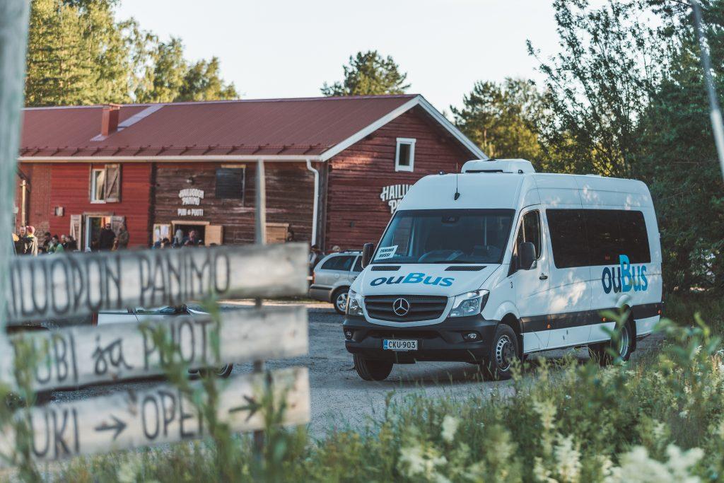 Hailuoton panimo bussi vierailu päivämatka Oulusta