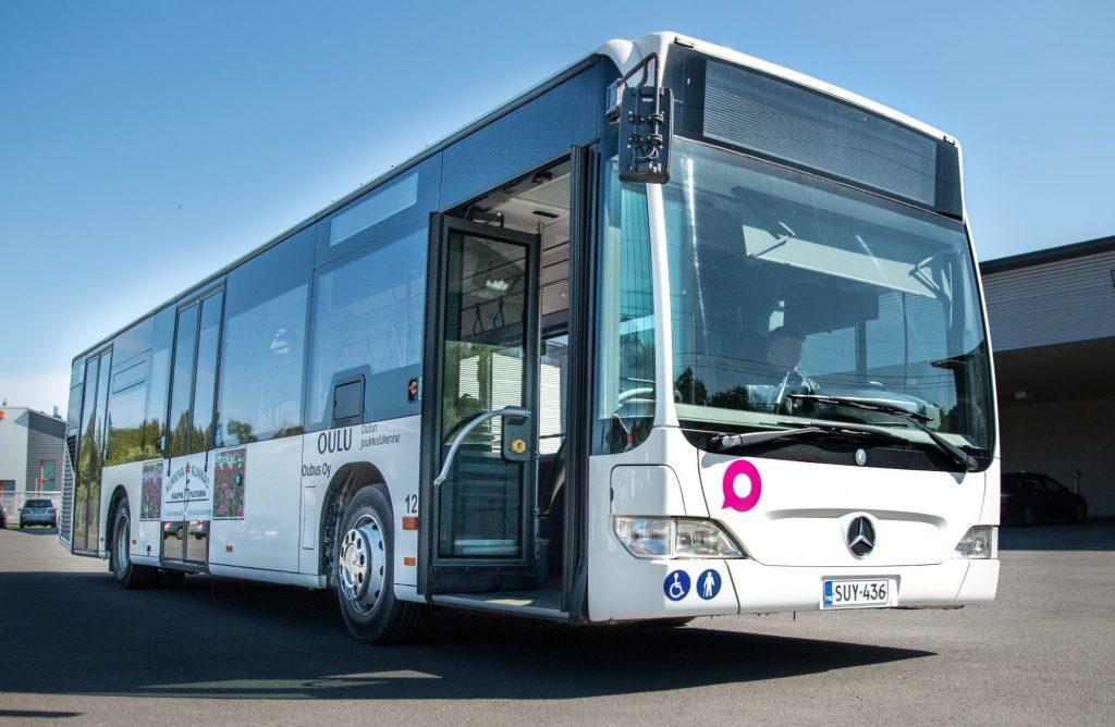 Proventia Euro6 vähäpäästöinen linja-auto