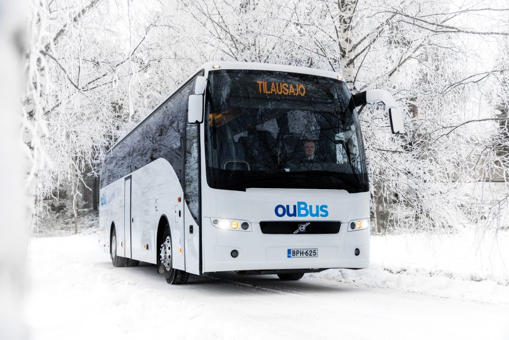 Volvo 9500 Tilausajobussi BPH-625